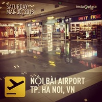 Photo taken at Noi Bai International Airport (HAN) by Zoro R. on 3/30/2013