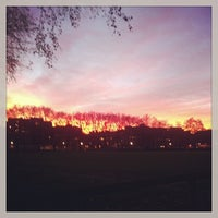 Photo taken at Vincent Square Playing Fields by Klo M. on 12/8/2013