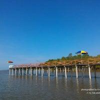 Photo taken at Pantai Batu Karas by Eri A. on 7/6/2016