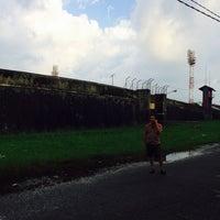 Photo taken at Stadion Andi Mattalatta (Mattoangin) by Ruslan R. on 3/9/2014
