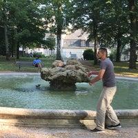 Photo taken at Jardin de l'Archevêché by Yzzie P. on 7/27/2016