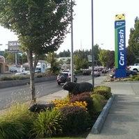 Photo taken at Brown Bear Car Wash by Ian C. on 8/8/2014