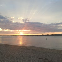 Photo taken at Sunset Beach by Ashu R. on 8/23/2013