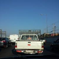 Photo taken at Autopista Vespucio Sur by Damian H. on 3/26/2014