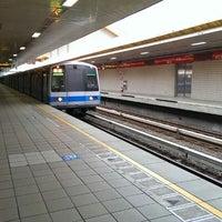 Photo taken at 捷運忠義站 MRT Zhongyi Station by Erling W. on 11/15/2013