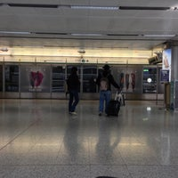 Photo taken at MTR Airport Station 機場站 by BJ Y. S. on 11/14/2012