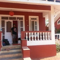 Photo taken at VilaNova Guesthouse by Gopi K. on 4/7/2016