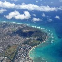 Photo taken at Honolulu International Airport (HNL) by Genevieve S. on 5/16/2013