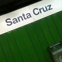 Foto tirada no(a) Estação Santa Cruz (Metrô) por Caroline R. em 10/22/2012
