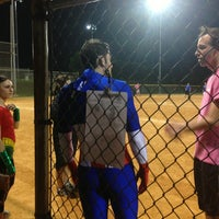 Photo taken at Bob Havins Fields by Sadaf H. on 4/9/2013