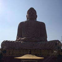 Photo taken at Great Buddha Statue by Vicky L. on 2/20/2014