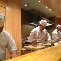 Photo taken at Sushi Yasuda by Nikki M. on 12/21/2012