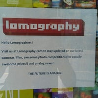 Photo taken at Lomography Gallery Store by Ali T. on 6/15/2013