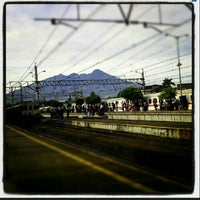 Photo taken at Stasiun Bogor by Tachinovic I. on 5/20/2013