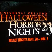 Photo taken at Universal's Halloween Horror Nights 23 by Dalcione R. on 11/1/2013