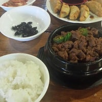 Photo taken at Seoul Korean Cuisine by Sally T. on 3/8/2014