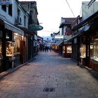 Photo taken at Стара скопска чаршија | Skopje Old Bazaar by Jan S. on 2/2/2013