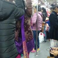 Photo taken at Kashmere Gate Metro Station by Akanksha A. on 1/17/2016
