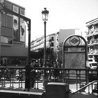 Photo taken at Plaza de Lavapiés by Luis S. on 4/23/2013