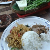 Photo taken at Warung Nasi AMPERA by UD U. on 8/11/2013