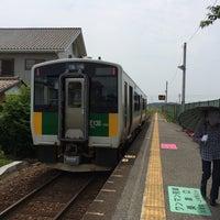 Photo taken at Higashi-Yokota Station by Hiroyuki T. on 6/21/2014