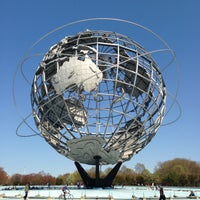 Photo taken at The Unisphere by Daniel R. on 4/27/2013