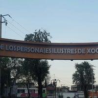 Photo taken at Rotonda De Los Personajes Ilustres De Xochimilco by 💞Laury E. on 3/6/2016