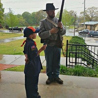 Photo taken at Southern Museum of Civil War and Locomotive History by Lane B. on 4/14/2013