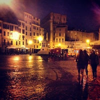 Photo taken at Campo de' Fiori by prinzale on 5/19/2013