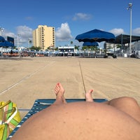 Photo taken at North Shore Aquatic Complex by Nic S. on 9/22/2016