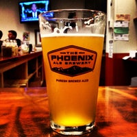 Photo taken at The Phoenix Ale Brewery by Kevin K. on 7/27/2013