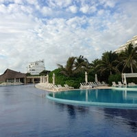 Photo taken at Live Aqua Cancún by Nataly on 1/8/2013