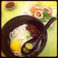 Photo taken at Home Made Fish Head Noodles by Jason R. on 12/19/2012