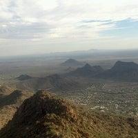 Photo taken at Sunrise Peak by Michael V. on 10/24/2013
