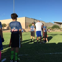 Photo taken at Desert Canyon Middle School by Rob M. on 9/20/2015