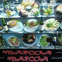 Photo taken at Restaurant Marisquería Marcoa by Álvaro P. on 4/30/2016