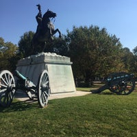 Photo taken at Andrew Jackson Statue by Nina N. on 10/17/2016