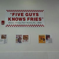 Photo taken at Five Guys by zachary h. on 10/2/2014