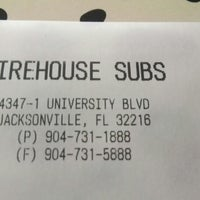 Photo taken at Firehouse Subs by zachary h. on 9/26/2014