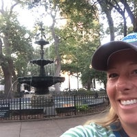 Photo taken at Bienville Square by Amy E. on 5/8/2016