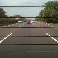 Photo taken at Jalan Tol Jagorawi by ananda p. on 8/17/2013