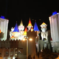 Photo taken at Excalibur Hotel & Casino by Arturo on 4/7/2013