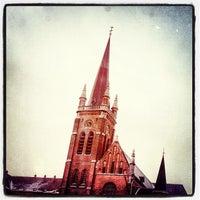 Photo taken at Spiegelplein / Place du Miroir by Willy C. on 1/24/2013