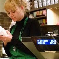 Photo taken at Starbucks by Sarah M. on 2/1/2015
