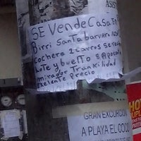 Photo taken at Parada de Buses Carrizal by Alexia C. on 3/24/2014