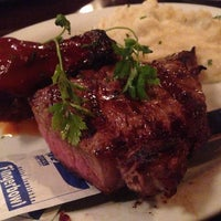 Photo taken at Schlesinger's Steak House by Angela B. on 11/4/2014