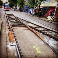 Photo taken at Ortenovo náměstí (tram) by Stefan S. on 5/14/2013