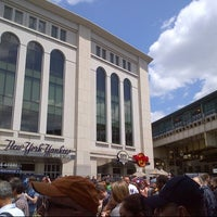 Photo taken at Babe Ruth Plaza by Valerie S. on 5/18/2014