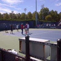 Photo taken at Court 5 - USTA Billie Jean King National Tennis Center by Valerie S. on 9/6/2013