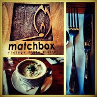 Photo taken at Matchbox Vintage Pizza Bistro by Jason C. on 3/24/2013